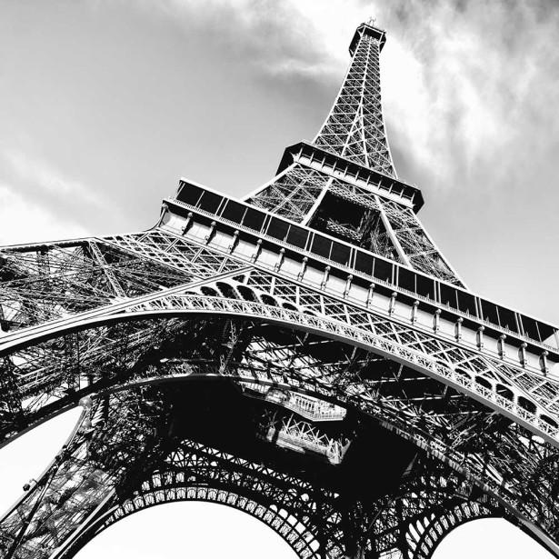 Фотообои Эйфелева башня 2х2 (city1288)