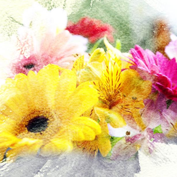 Обои фото Фоновый букет цветов (flowers-0000329)