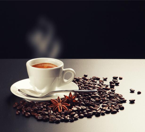 Чашка кофе ваниль Фотообои кухня (food-0000135)