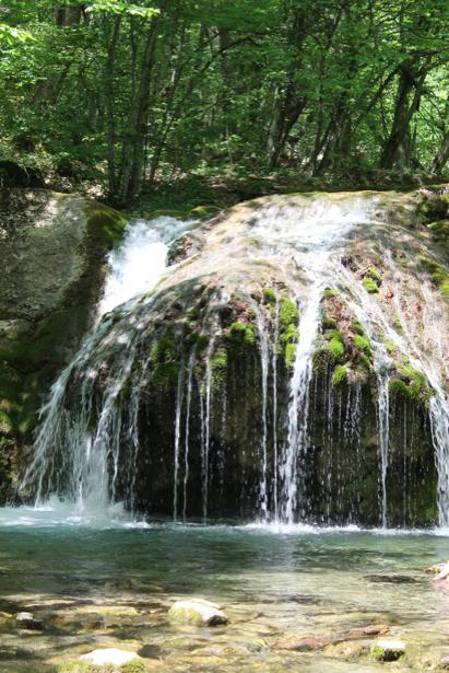 Фотообои водопад водоем (nature-00612)