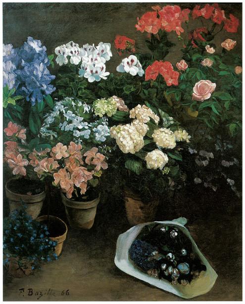 картина изучение цветов (pf-7)