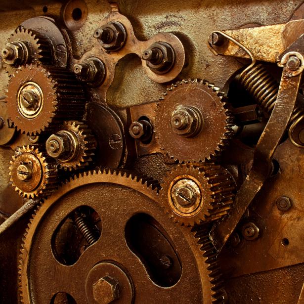 Фотообои  механизм (retro-vintage-0000198)