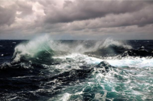 Фотообои шторм в океане (sea-0000054)