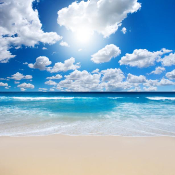 Фотообои море и небо с облаками (sea-0000122)
