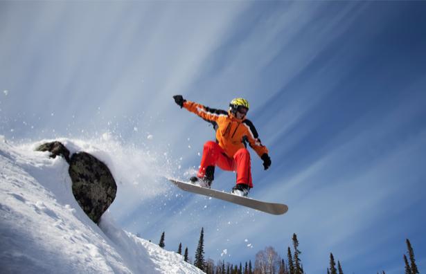Фотообои сноубордист фото (sport-0000086)