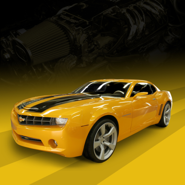 Фотообои Chevy Camaro SS (transport-0000231)