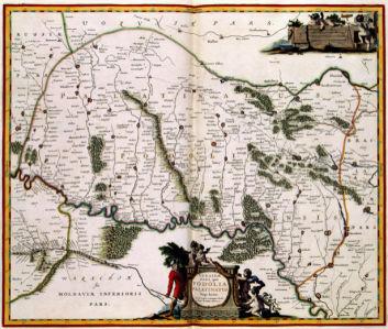 Карта Подолья (ukraine-0241)