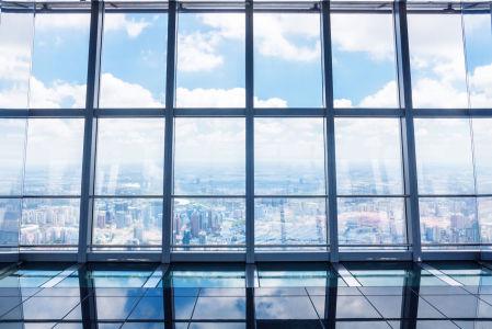 Фотообои небо в окне (win-6)