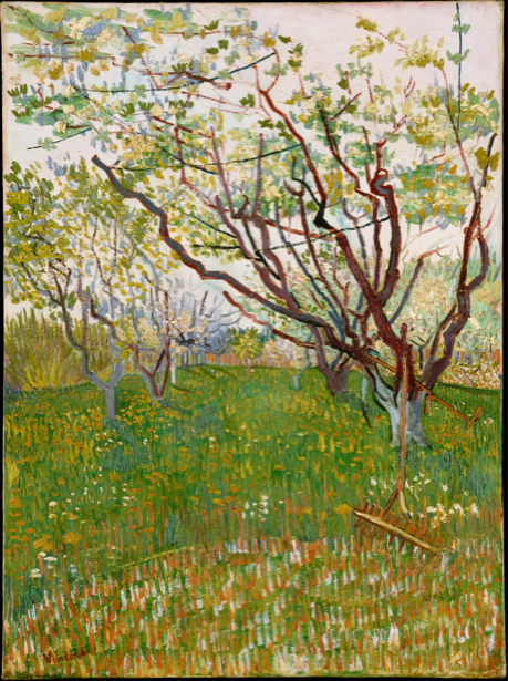 Ван Гог пейзаж (art-0000228)