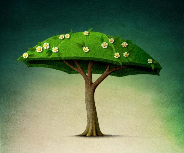 фотообои детские сказочное дерево (children-0000360)