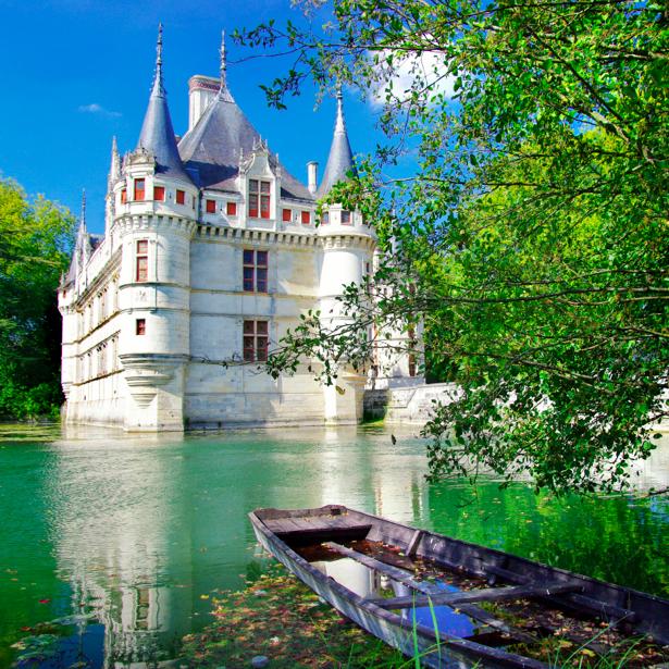 Фотообои Бордо Долина Луары Париж замок (city-0000047)