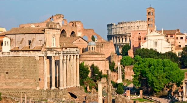 Фотообои Римский форум, Италия, Рим (city-0000303)