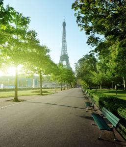 Фотообои Эйфелевая башня Париж (city-0000684)