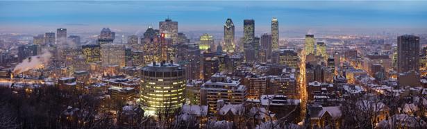 Фотообои панорама Монреаль (city-0000787)