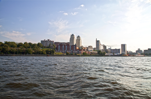 Фотообои Днепропетровск речка Днепр (city-0000896)