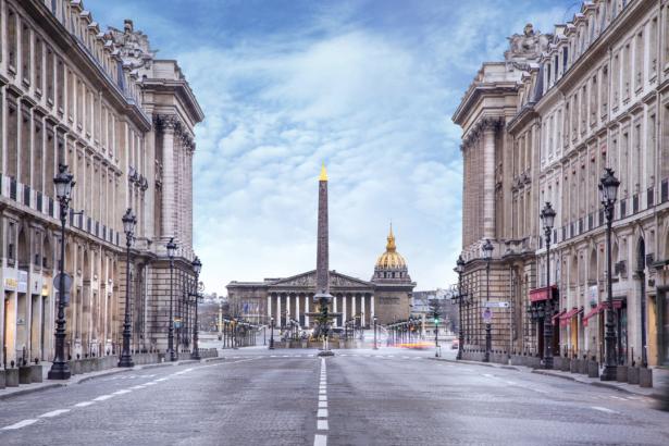 Фотообои Площадь Согласия Париж (city-0001299)