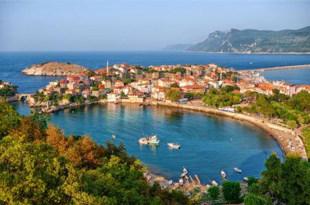 Фотообои Турецкий берег моря (city-0001356)