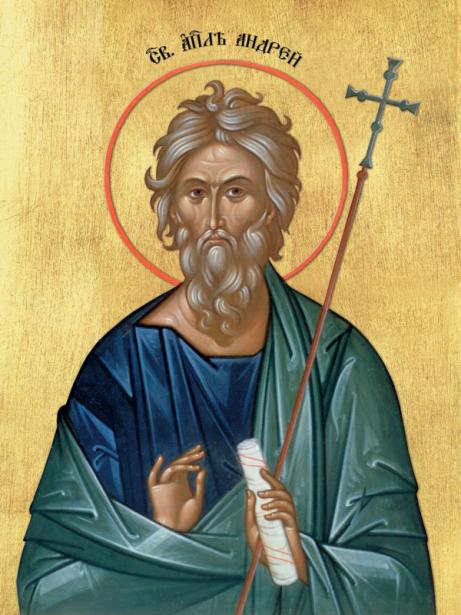 Икона Святой апостол Андрей Первозванный (icon-00039)