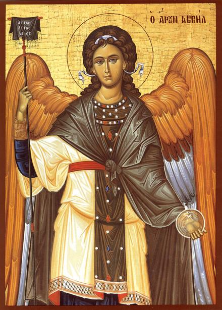 Икона Архангел Гавриил (icon-00118)