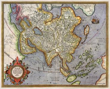 атлас, география, карты, старая карта (map-0000106)