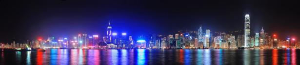 Фотообои горизонты Гонконга (panorama-71)