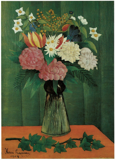 ваза с цветами Анри Руссо (pf-98)