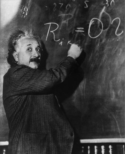 Альберт Энштейн, физик (retro-vintage-0000298)
