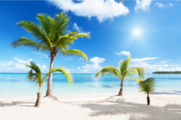 Фото обои море белый песок (sea-0000006)