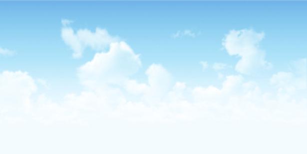 Фотообои светлое небо с облаками (sky-0000068)
