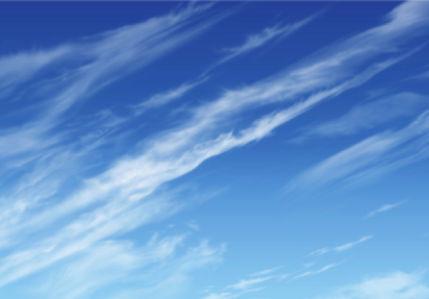 Фотообои голубое небо для спальни (sky-0000113)