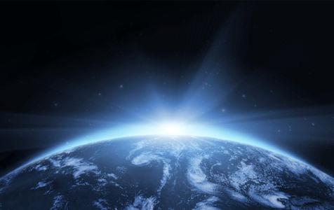 Фотообои космический пейзаж планета (space-0000053)