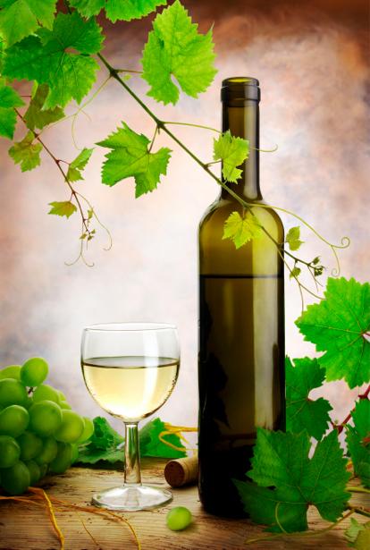 Фотообои виноградник и вино (still-life-0009)