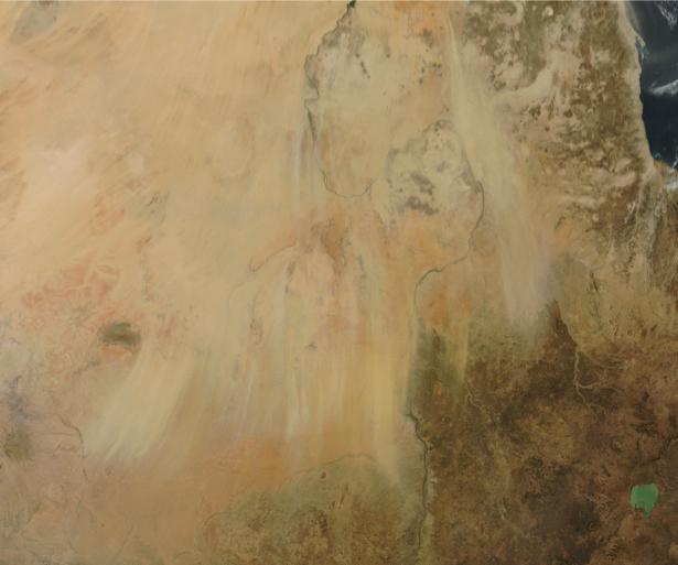 Фотообои 3д живопись пустыни (terra-00029)
