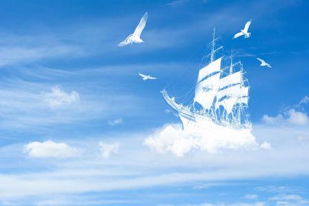 Фотообои Воздушный корабль (child-508)