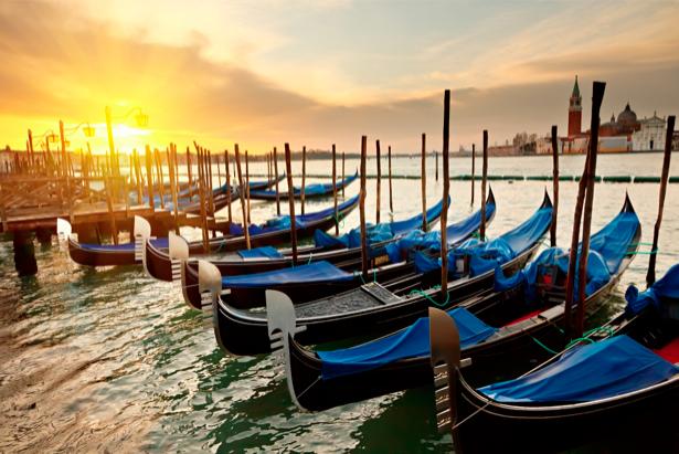 Фотообои Венеция, город, гондола (city-0000339)