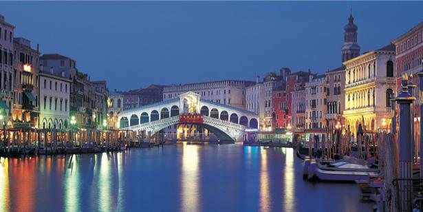 Фотообои канал в Венеции, Венеция, Италия (city-0000353)