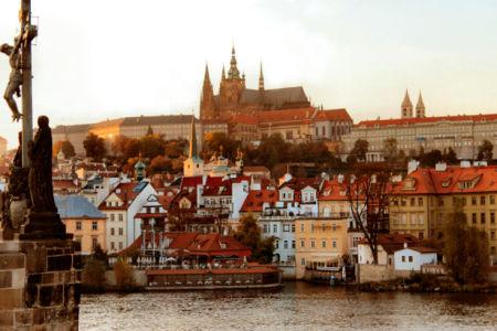 Фотообои Чехия Прага городской пейзаж (city-0000526)