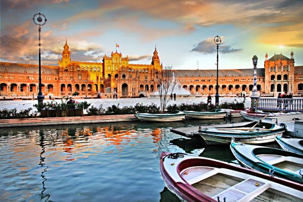 Фотообои Испанская площадь (city-0001112)