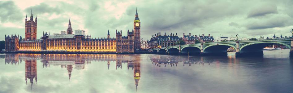 Фотообои Палаты английского Парламента (city-1477)