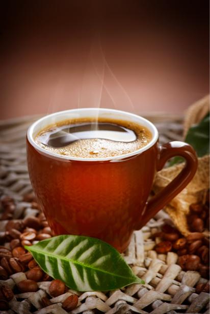 Фотообои для кухни Горячий кофе (food-0000152)