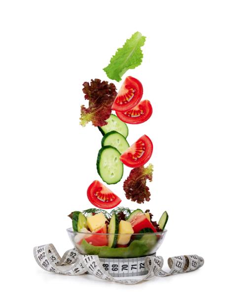 Фотообои кухня овощное ассорти салат (food-0000216)