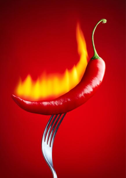 Фотообои на кухню красный перец (food-0000280)