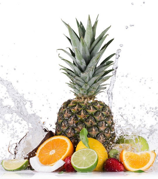фотообои фрукты и ананас (food-326)