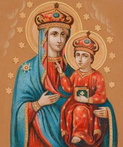 Озерянская икона Божией Матери (icon-00113)