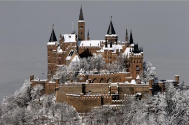 Фотообои Гогенцоллерн Германия замок (nature-00077)