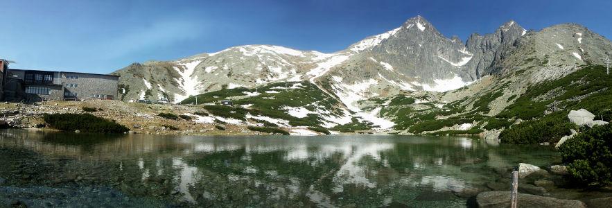 Фотообои природные пейзажи озеро в горах (nature-00151)