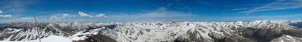 Фотообои горизонтальные горная панорама (nature-00231)