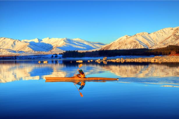 Фотообои озеро горы каноя (nature-00583)
