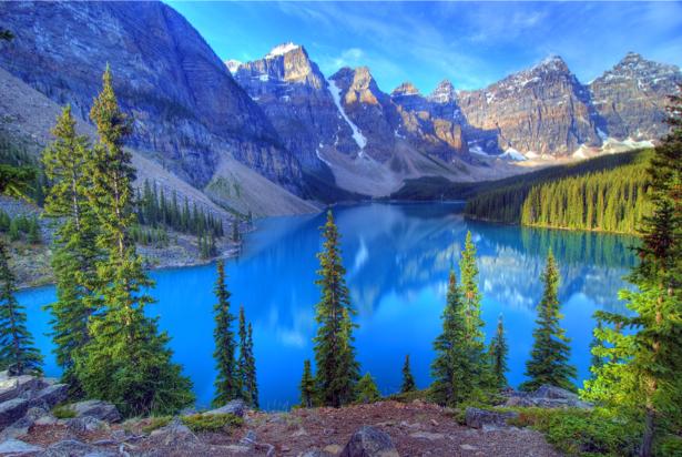 Фотообои озеро горное (nature-00584)
