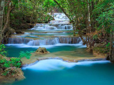 Фотообои каскадный водопад (nature727)
